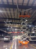 Bigfans7.4m Wechselstrom-Ventilations-Installations-Aluminiumlegierung-grosser industrieller Ventilator