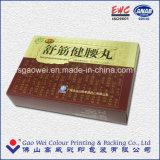 Rectángulo de regalo del almacenaje del papel de la cartulina del embalaje