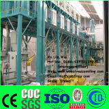 máquina da fábrica de moagem do milho 50T/24H, planta de trituração do milho, moinho de rolo do milho