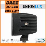 20W luz del trabajo del CREE LED con el reflector 4D