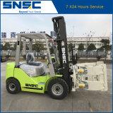 SNSC Calidad Japón Motor rollo de papel de 3 toneladas Carretilla elevadora