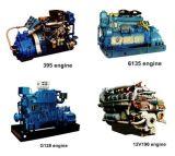 Китайский двигатель морского движения вперед (395, 6135, G128, 12V)
