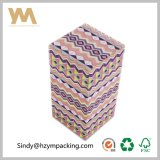 Роскошная бумажная коробка подарка картона для косметики