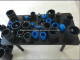 Encaixes de tubulação do HDPE PE100 e eletro encaixes da fusão