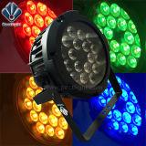 새로운 18X10W RGBW4in1 LED 동위는 빛을 상연할 수 있다