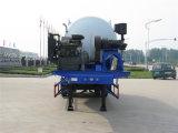 3 반 차축 40cbm 대량 시멘트 트레일러
