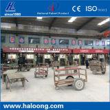 37 años del surtidor de China CNC funcionamiento del servomotor fuego ladrillo máquina de prensado