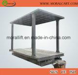 Type de ciseau vertical ascenseur de voiture avec toit