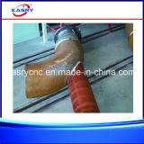 Máquina de chanfradura inoxidável da estaca de flama do plasma do CNC da tubulação de aço da folha/planta