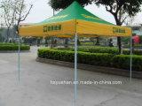 2016年の中国の新しいデザイン安い良質の涼しく青い折るテントの鉄骨フレームのテント