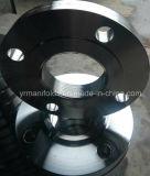 Aço inoxidável AISI 304/304L, 316, 316L, flange rosqueada do aço de carbono