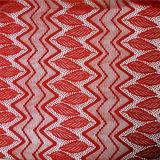 Cable de la manera del algodón tela de encaje (6214)