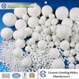 Resistant abrasivo 95% Alumina Ceramic Balls como Mill Grinding Media