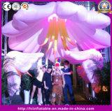 De opblaasbare Decoratie van het Huwelijk van de Bloem van de Verlichting met LEIDEN Veranderend Licht