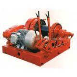 Treuil électrique 40ton avec dispositif de spool pour chantier naval