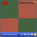 고무 Mat 또는 Rubber Flooring Playground Safety Rubber Flooring Tiles