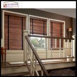 bande extérieure UV d'échelle d'enduit de 50mm, inclinaison de corde, abat-jour en bois de fenêtre de rail de tête en métal de profil haut