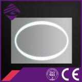 Jnh216楕円形の装飾的な照らされたタッチ画面の浴室ミラー