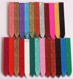 24 bâtons différents de cire de couleurs pour des estampilles de joint de cire