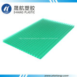 Feuille de PC en polycarbonate à double paroi givrée avec revêtement UV