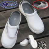 De witte ESD Schoenen van het Werk van de Veiligheid van de Verpleegster van de Neus Witte
