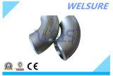 Instalación de tuberías de acero inoxidable del codo de Sch80s