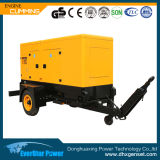 Generador de potencia diesel del motor 65kw 81kVA Generationg de Doosan con la carretilla