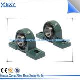 Inserte el rodamiento de bolas con los bloques de almohadilla de la caja de acero prensado Ucfc201-218