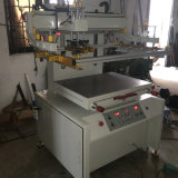 Impressora semiautomática da tela para o couro