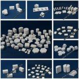 Alumina Tile Praça de cerâmica sobre Furar plástico / papel / Nylon Net