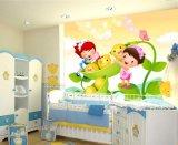 Papel pintado auto-adhesivo barato respetuoso del medio ambiente de los murales de la pared del sitio del bebé del cuarto de niños