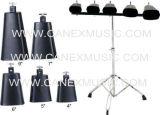 Cencerro / cencerro con el soporte (CX-05) / Instrumentos de percusión cencerro