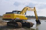 Excavatrice hydraulique de chenille de Carter