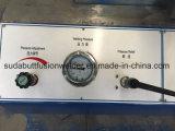 Máquina de soldadura da tubulação do HDPE Sdf315 com cruz do T do cotovelo