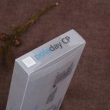 Silberner heißer stempelnder Plastik-Belüftung-faltender Kasten mit Ihrem Einbrennen (Geschenkbeutel)