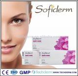 Remplissage pharmaceutique d'acide hyaluronique de pente de Sofiderm pour l'injection meso