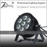 18watt 7 LEDのデイジーチェーンの防水同価の段階ライト