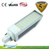 중국 공급자 Epistar Samsung SMD2835 9W LED G24 PL 빛