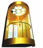 カプセルのエレベーター、観光のためのパノラマ式の上昇