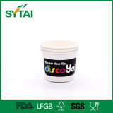 Sopa de macarronete preta descartável ou copos de papel da salada/bacia