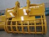 Cubeta da peneira da máquina escavadora da alta qualidade, cubeta de deslocamento, cubeta do esqueleto do crivo da máquina escavadora