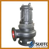 Pompe à eau d'égout submersible des eaux usées résiduaires