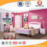 Eindeutiges Kids Schlafzimmer Furniture mit Bed Writing Table und Wardrobe (UL-H903)
