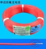 O calor resiste Calibre de diâmetro de fios 20 24 fios isolados Teflon do UL de PTFE