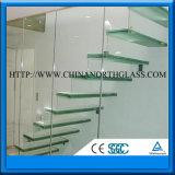Стандарт CE Очистить или Тонированные закаленное ламинированного стекла для Skylight