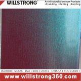 Panneau composé en aluminium de couleur de caméléon pour le revêtement de mur