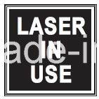 LEDレーザー使用中のSwの方法によって照らされるドアの印