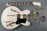 Placer-dans le nécessaire de la guitare électrique DIY de jazz