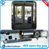 Коммерчески дверь сползая стекла алюминиевого сплава автоматическая