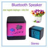 Heißer Verkauf für mini drahtlosen Bluetooth Lautsprecher mit glänzendem Schrifttyp